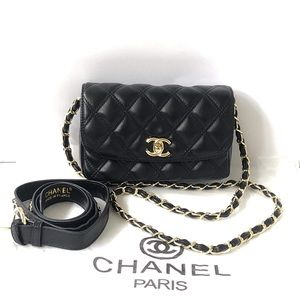 ❤️ Chanel VIP Fanny Pack Belt Bag with Extra Strap